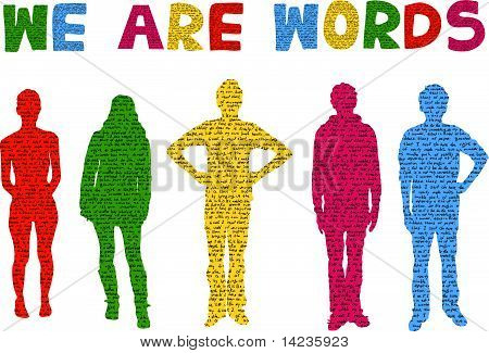 we are words.eps