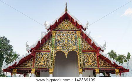 Thai Buddhism Temple architecture Art Roof Details