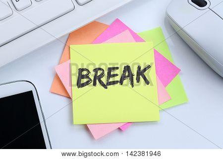 Break Work Lunch Working Relax Desk