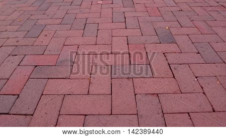 bricks Boston Harborwalk Fan Pier Seaport District Massachusetts