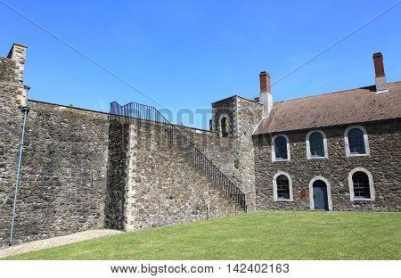 Dover Castle, landmark castle in United Kingdom