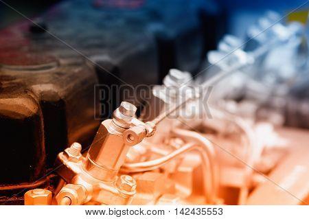 Engine Of Automobile