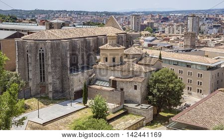 Saint Mary Cathedral in Girona Catalonia Spain