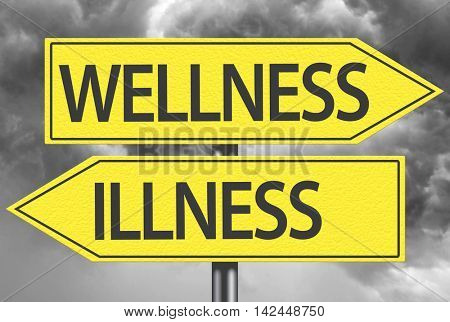 Wellness x Illness yellow