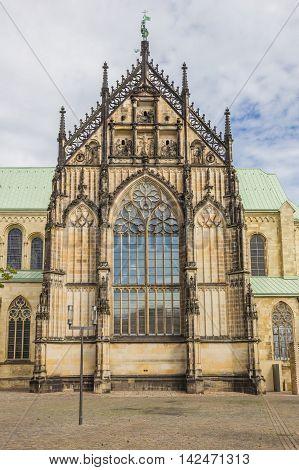 St. Paulus Dom In The Historical Center Of Munster