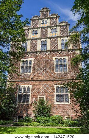 Drostenhof Building In Wolbeck Quarter Of Munster
