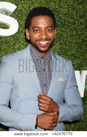 LOS ANGELES - AUG 10:  Shaun Brown at the CBS, CW, Showtime Summer 2016 TCA Party at the Pacific Design Center on August 10, 2016 in West Hollywood, CA
