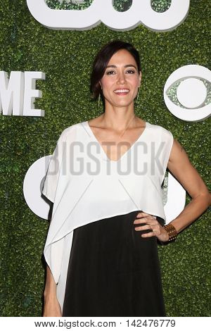 LOS ANGELES - AUG 10:  Sandrine Holt at the CBS, CW, Showtime Summer 2016 TCA Party at the Pacific Design Center on August 10, 2016 in West Hollywood, CA