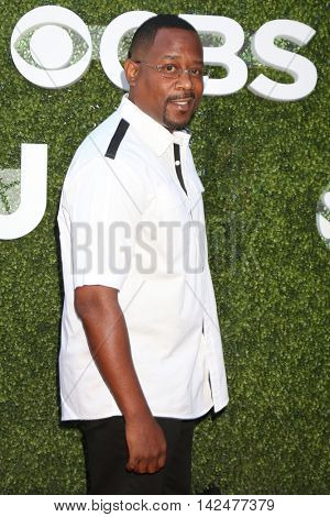 LOS ANGELES - AUG 10:  Martin Lawrence at the CBS, CW, Showtime Summer 2016 TCA Party at the Pacific Design Center on August 10, 2016 in West Hollywood, CA