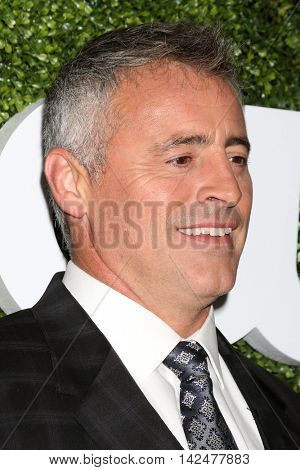 LOS ANGELES - AUG 10:  Matt LeBlanc at the CBS, CW, Showtime Summer 2016 TCA Party at the Pacific Design Center on August 10, 2016 in West Hollywood, CA