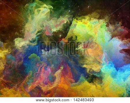 Dance Of Space Nebula
