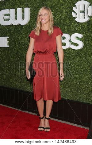LOS ANGELES - AUG 10:  Emily Wickersham at the CBS, CW, Showtime Summer 2016 TCA Party at the Pacific Design Center on August 10, 2016 in West Hollywood, CA