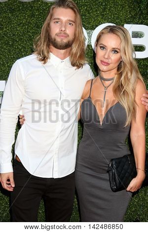 LOS ANGELES - AUG 10:  Markie Adams, Drew Van Acker at the CBS, CW, Showtime Summer 2016 TCA Party at the Pacific Design Center on August 10, 2016 in West Hollywood, CA