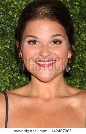 LOS ANGELES - AUG 10:  Annie Funke at the CBS, CW, Showtime Summer 2016 TCA Party at the Pacific Design Center on August 10, 2016 in West Hollywood, CA
