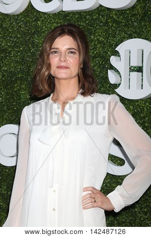 LOS ANGELES - AUG 10:  Betsy Brandt at the CBS, CW, Showtime Summer 2016 TCA Party at the Pacific Design Center on August 10, 2016 in West Hollywood, CA