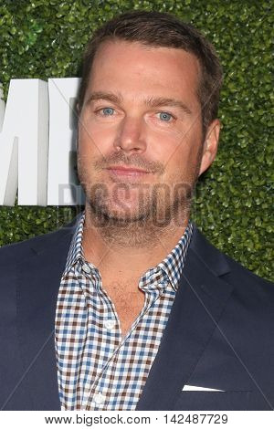 LOS ANGELES - AUG 10:  Chris O'Donnell at the CBS, CW, Showtime Summer 2016 TCA Party at the Pacific Design Center on August 10, 2016 in West Hollywood, CA