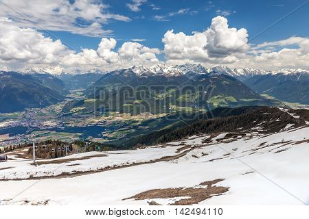 Looking Into The Pustertal Valley