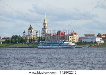 RYBINSK, RUSSIA - JULY 16, 2016: Rver cruise ship