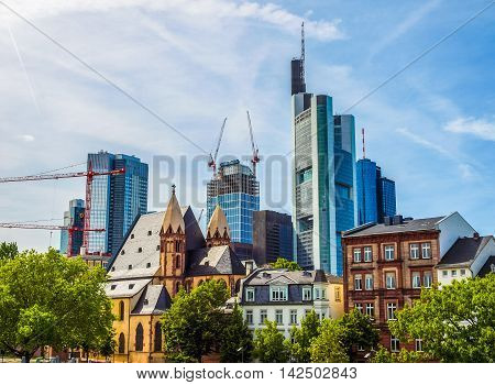 Frankfurt Germany Hdr