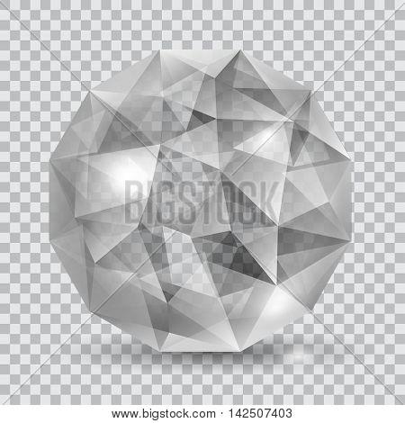 Gray Translucent Crystal