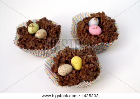 Chocolate Rice Crispie Cakes