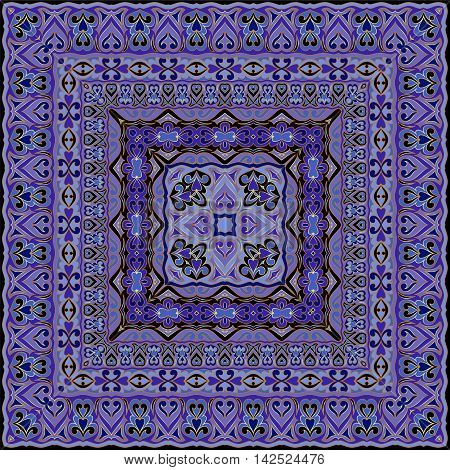 Eastern Square Pattern