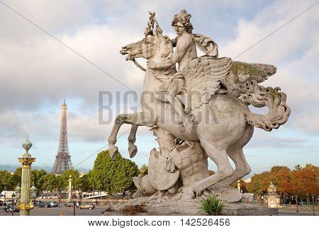 Place de la Concorde in Parice, France