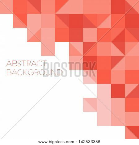 Abstract background squares . Concept business brochure.  Vector illustration.