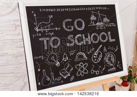In school the Board says