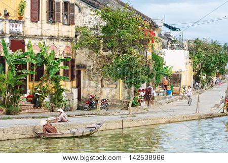 Street of Hoi An Ancient Town, Vietnam