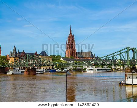 Frankfurt Cathedral Hdr