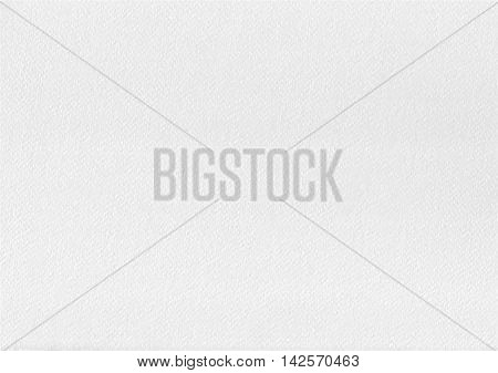 White gray watercolor paper texture. Realistic high quality embossed watercolor paper. Textured background. Vector illustration.