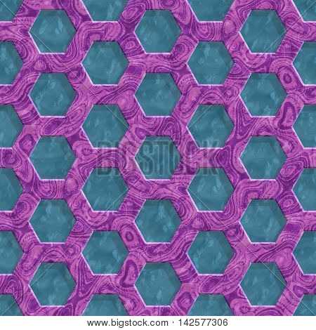 Wire mesh marble seamless generated hires texture or background, 3D illustration