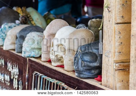 Elongated Skulls In Peru