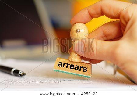 Arrears