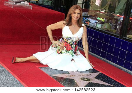 LOS ANGELES - AUG 11: Roma Downey, Jack Huston at a ceremony where Roma Downey is honored with a star on the Hollywood Walk of Fame on August 11, 2016 in Los Angeles, California