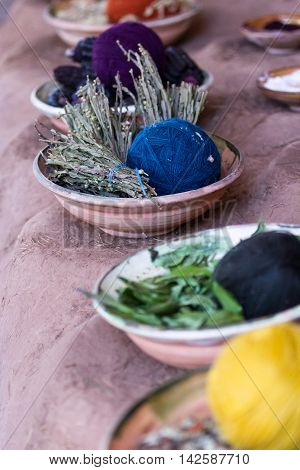 Natural Products For Dying Textiles