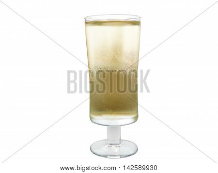 Apple Cider In A Glass Glass
