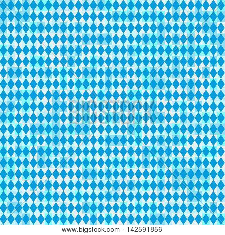 Seamless Oktoberfest and Bavarian flag pattern or background with light effect color