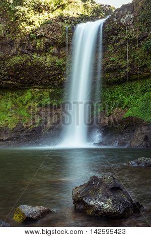 This beautiful Waterfall commonly known as SHUKNACHARA FALLS amidst mesmerizing greenery is located in KHAGRACHARI, BANGLADESH.