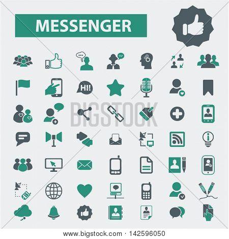 messenger icons