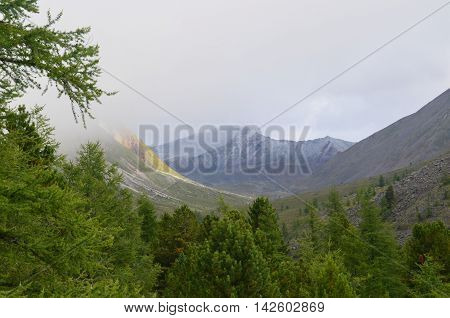 The Siberian High Mountains Of Eastern Sayan