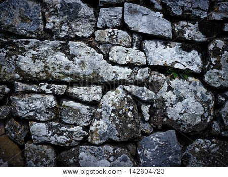 Nice textured Image of a stone wall. Perfect for backgrounds