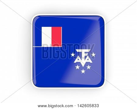 Flag Of French Southern Territories, Square Icon