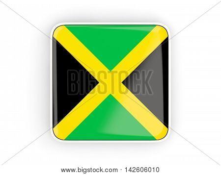 Flag Of Jamaica, Square Icon