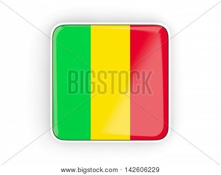 Flag Of Mali, Square Icon