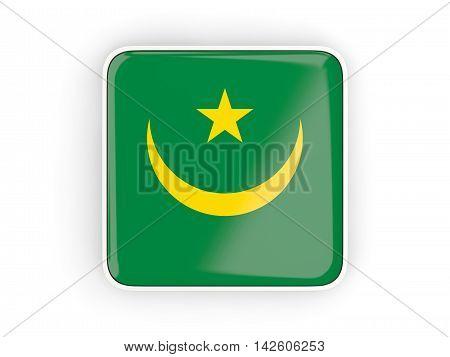 Flag Of Mauritania, Square Icon