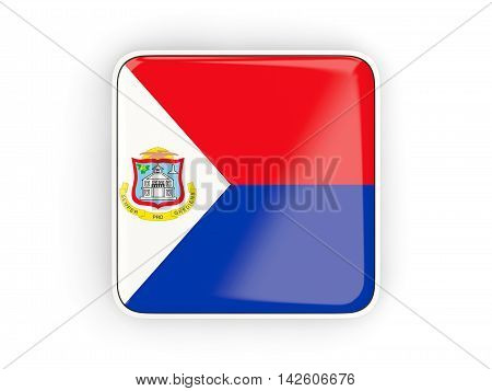 Flag Of Sint Maarten, Square Icon