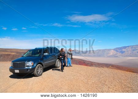 Photographing Death Valley In California, Usa