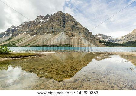 Morning at Bow Lake, Banff National Park, Alberta, Canada